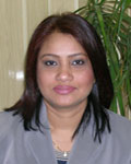 Rubina Ahmed, Administrative Assistant